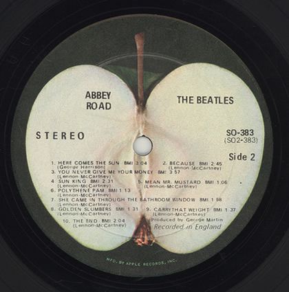 The Beatles Polska: Druga strona albumu Abbey Road w piętnastosekundowych fragmentach.