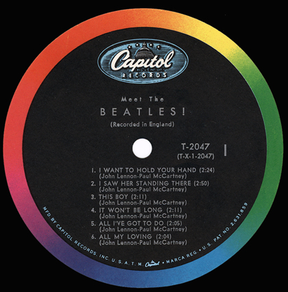 meet the beatles label variations of poker